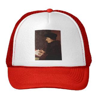 Hans Holbein - Portrait of Desiderius Erasmus Trucker Hats