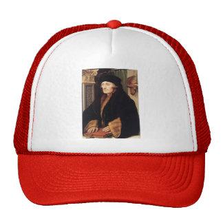 Hans Holbein - Portrait of Erasmus of Rotterdam Trucker Hat