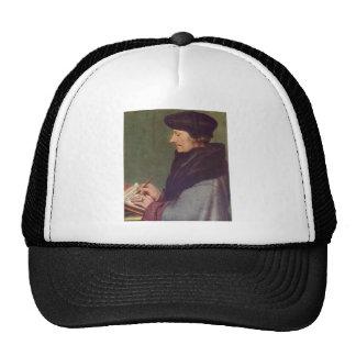 Hans Holbein- Portrait of Erasmus Writing Trucker Hats