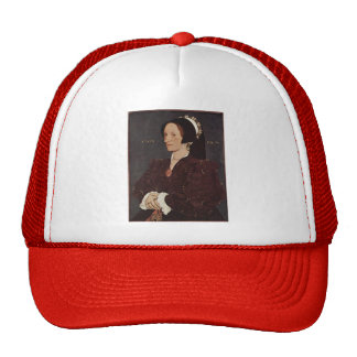 Hans Holbein- Portrait of Margaret Wyatt, Lady Lee Trucker Hats