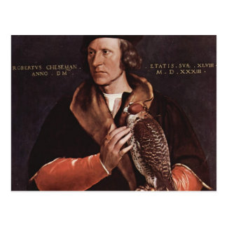 Hans Holbein- Portrait of Robert Cheseman Postcard