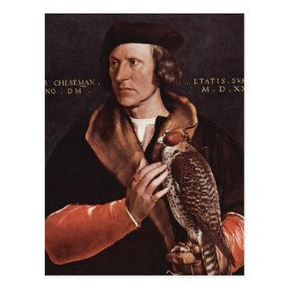 Hans Holbein- Portrait of Robert Cheseman Post Cards
