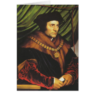 Hans Holbein - Portrait of Sir Thomas More Card