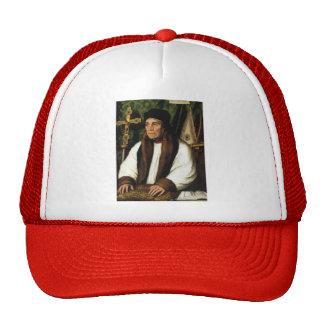 Hans Holbein-Portrait of William Warham Mesh Hats