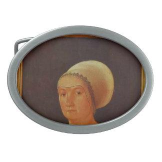 Hans Holbein - retrato de la mujer de 34 años Hebilla De Cinturon