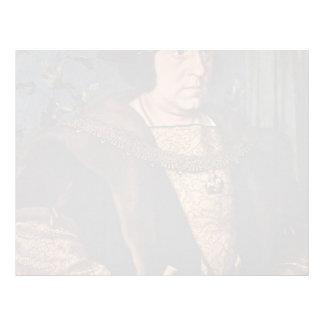 Hans Holbein - retrato de sir Henry Guildford Membrete A Diseño