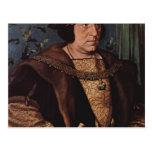 Hans Holbein - retrato de sir Henry Guildford Tarjeta Postal