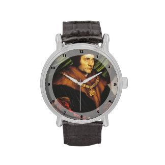 Hans Holbein - retrato de sir Thomas More Reloj De Mano