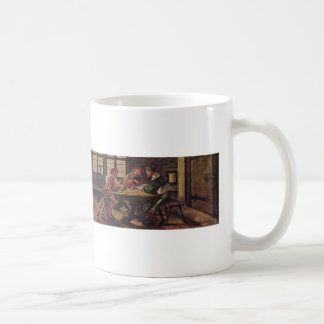 Hans Holbein - Signboard for a Schoolmaster Mugs