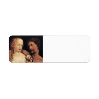 Hans Holbein the Younger- Adam and Eve Return Address Labels