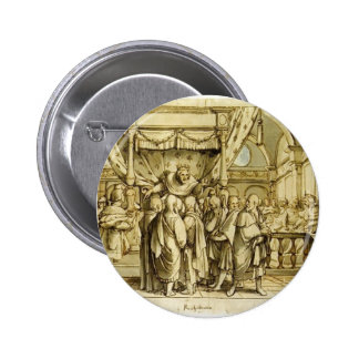 Hans Holbein the Younger-Arrogance of Rehoboam Pin