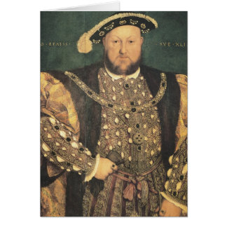 Hans Holbein the Younger Henry VIII Card