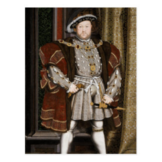 Hans Holbein the Younger King Henry VIII Postcard