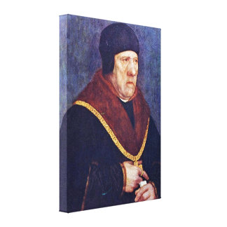 Hans Holbein the Younger - Merchant Canvas Prints