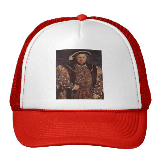 Hans Holbein the Younger- Portrait of Henry VIII Trucker Hats