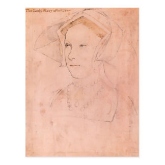 Hans Holbein the Younger- Queen Mary I Tudor Postcard