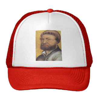 Hans Holbein the Younger- Self Portrait Mesh Hats