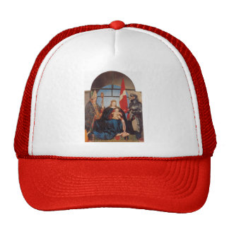 Hans Holbein the Younger- The Solothurn Madonna Mesh Hat