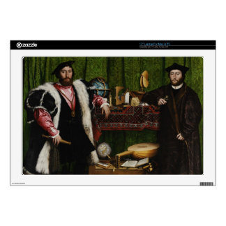 Hans Holbein the Younger's The Ambassadors Decals For Laptops