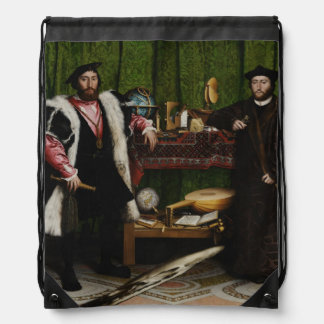 Hans Holbein the Younger's The Ambassadors Drawstring Bag