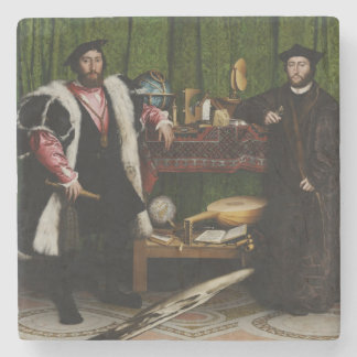Hans Holbein the Younger's The Ambassadors Stone Coaster