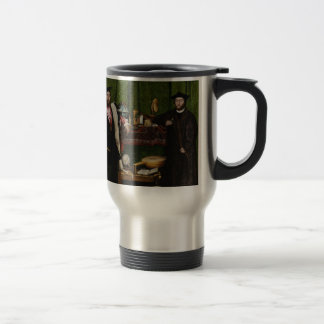 Hans Holbein the Younger's The Ambassadors Travel Mug