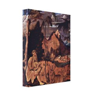 Hans Leu der altere - Orpheus and the animals Canvas Prints