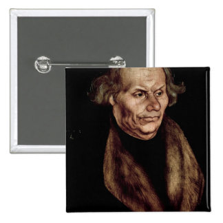 Hans Luther , Father of Martin Luther 2 Inch Square Button