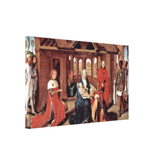 Hans Memling - Adoration of the Magi Gallery Wrapped Canvas