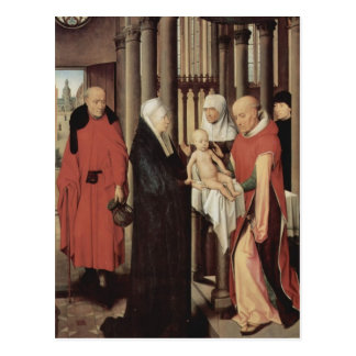 Hans Memling- Adoration of the Magi Postcard