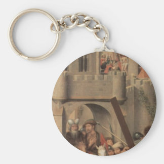 Hans Memling-Altar triptych from Lübeck Cathedral Key Chain