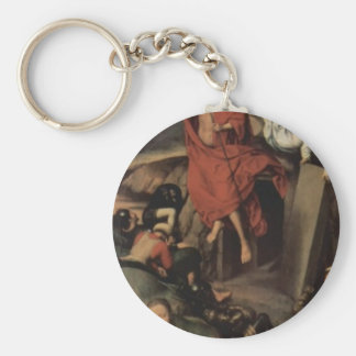 Hans Memling-Altar triptych from Lübeck Cathedral Keychains