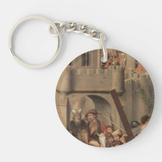 Hans Memling-Altar triptych from Lübeck Cathedral Acrylic Key Chain