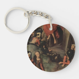 Hans Memling-Altar triptych from Lübeck Cathedral Acrylic Keychain