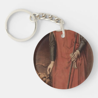 Hans Memling-Altar triptych from Lübeck Cathedral Key Chains