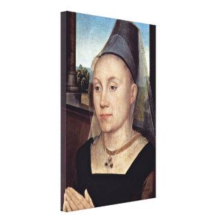 Hans Memling - Barbara van Vlaendenbergh Canvas Print