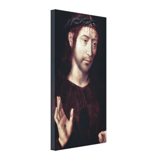 Hans Memling - Christ crowned with thorns Stretched Canvas Print