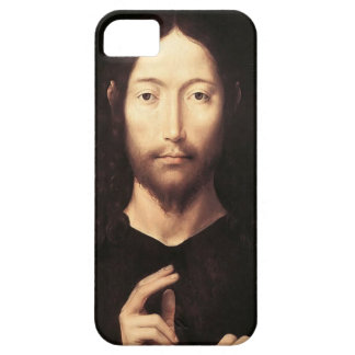 Hans Memling- Christ Giving His Blessing iPhone 5 Case