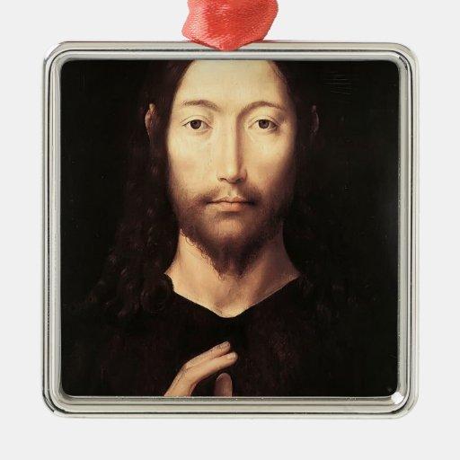 Hans Memling- Cristo que da su bendición Ornato