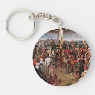 Hans Memling- Crucifixion Acrylic Key Chain