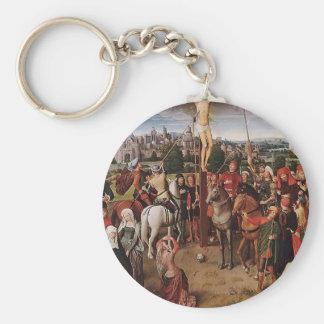 Hans Memling- Crucifixion Key Chains