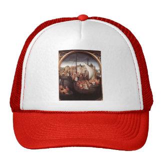 Hans Memling-Departure of Saint Ursula from Basle Hats