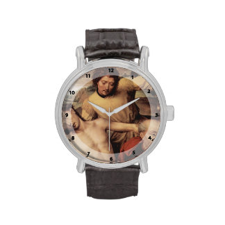 Hans Memling- Descent from the Cross Wrist Watches