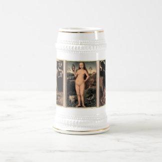 Hans Memling Earthly Vanity and Divine Salvation 18 Oz Beer Stein