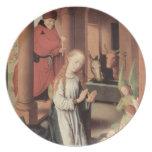 Hans Memling- la natividad Plato De Cena