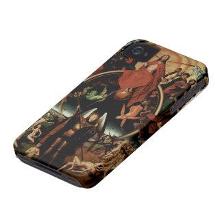 Hans Memling-Last Judgment with Archangel Michael iPhone 4 Case