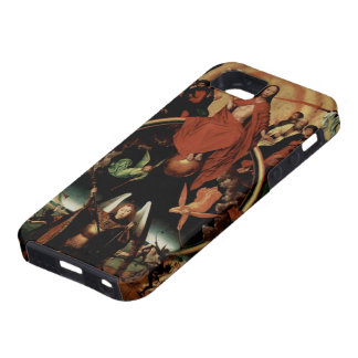Hans Memling-Last Judgment with Archangel Michael iPhone 5 Cover
