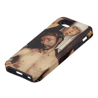 Hans Memling- Man of Sorrows in Arms of the Virgin iPhone 5 Case