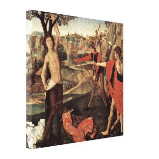 Hans Memling - Martyrdom of St Sebastian Canvas Prints