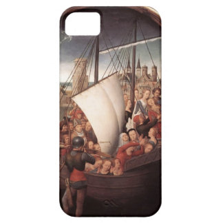 Hans Memling-Martyrdom of St.Ursula and companions iPhone 5 Cases